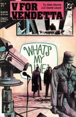 V pour Vendetta # 5 Issues