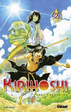 couverture, jaquette Kirihôshi 2  (Glénat Manga)