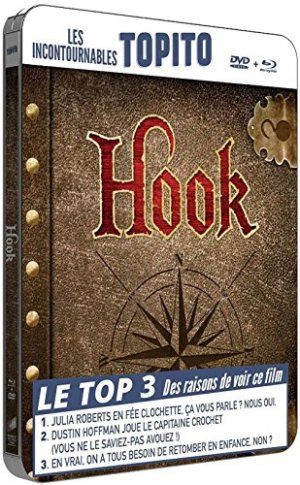 Hook ou la revanche du Capitaine Crochet édition Steelbook