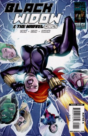 Black Widow & The Marvel Girls # 1 Issues (2010)