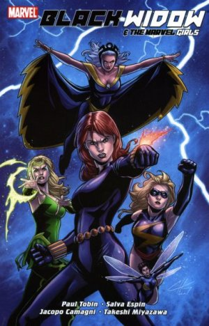 Black Widow & The Marvel Girls édition TPB softcover (souple)