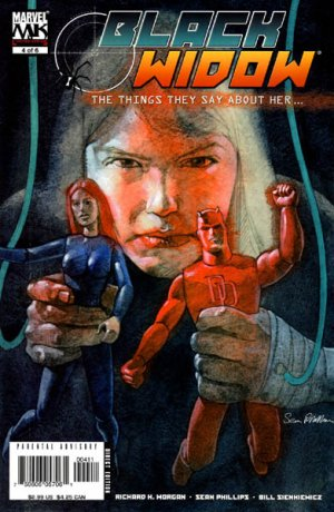 Black Widow - Ce qu'ils disent d'elle # 4 Issues (2005 - 2006)