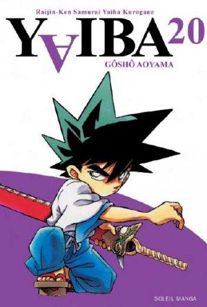 couverture, jaquette Yaiba 20  (soleil manga)