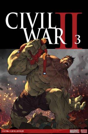 Civil War 2 # 3 Issues (2016)