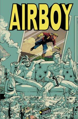 Airboy édition TPB hardcover (cartonnée)