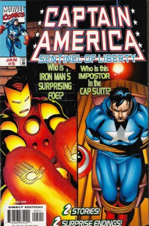Captain America - La Sentinelle de la Liberté T.5