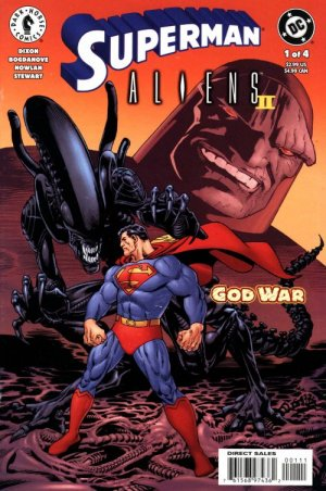 Superman / Aliens II : God War édition Issues