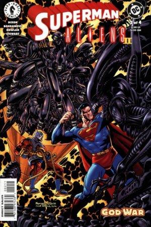 Superman / Aliens II : God War # 2 Issues