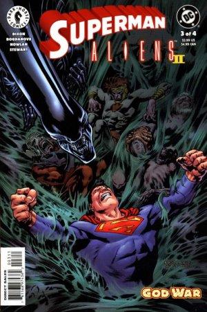 Superman / Aliens II : God War # 3 Issues