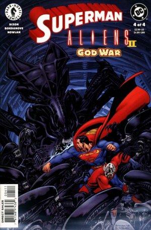 Superman / Aliens II : God War # 4 Issues