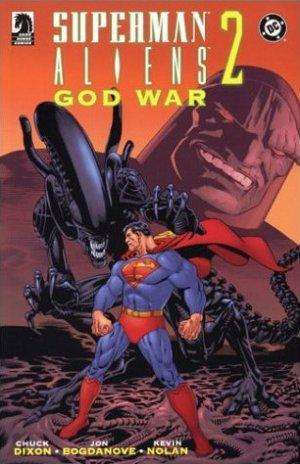 Superman / Aliens II : God War édition TPB softcover (souple)