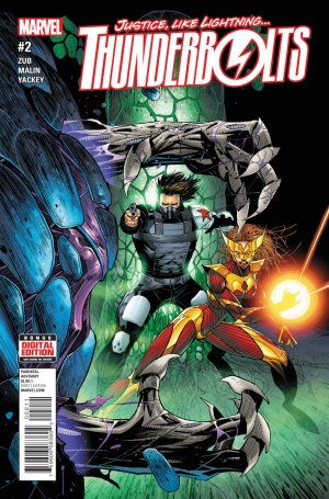 Thunderbolts édition Issues V3 (2016 - 2017)
