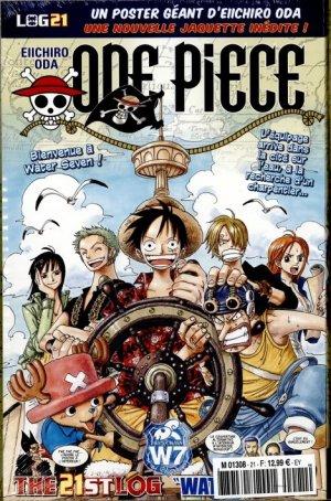 couverture, jaquette One Piece 21 Logs (Hachette)