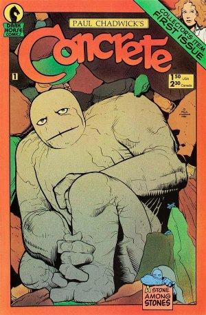 Concrete édition Issues (1987 - 1988)