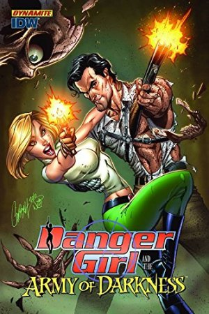 Danger Girl and the Army of Darkness édition TPB softcover (souple)