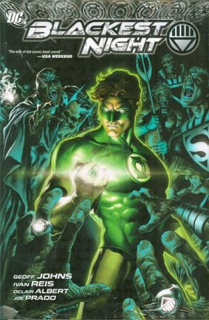 Blackest Night édition TPB softcover (souple)