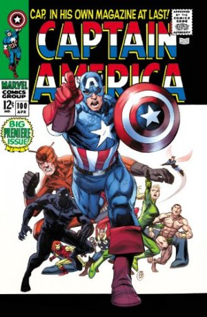 Captain America # 1 TPB Hardcover - Omnibus - Issues V1