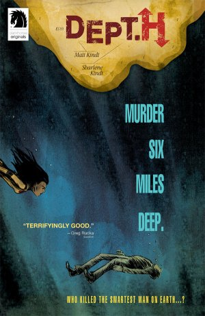 Dept. H - Murder Six Miles Deep édition Issues (2016 - 2018)