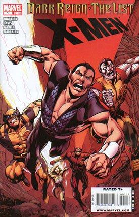 Dark Reign - The List - X-Men # 1 Issues