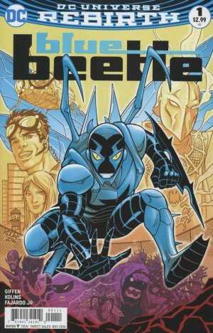 Blue Beetle édition Issues DC V4 (2016 - 2018)