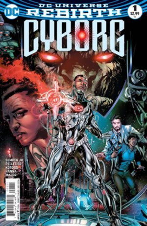 Cyborg édition Issues V2 (2016 - Ongoing)