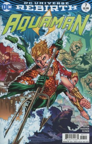 Aquaman # 7 Issues V8 (2016 - Ongoing) - Rebirth