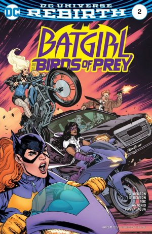 Batgirl and the Birds of Prey # 2 Issues V1 (2016 - 2018)