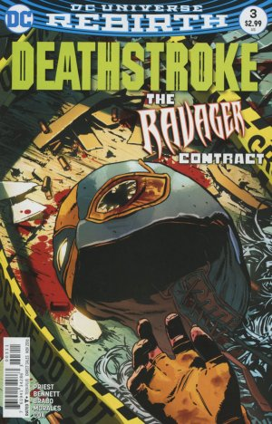 Deathstroke # 3 Issues V4 (2016 - 2019) - Rebirth