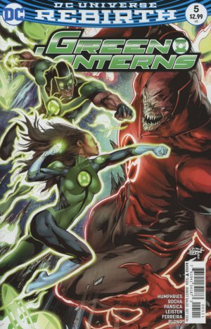 Green Lanterns # 5 Issues V1 (2016 - Ongoing)