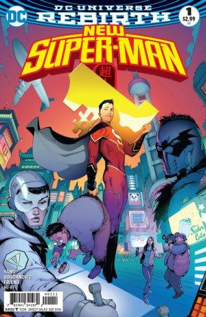 New Super-Man # 1 Issues (2016 - 2018)