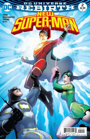 New Super-Man # 2 Issues (2016 - 2018)