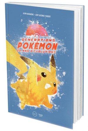 Génération Pokémon - 20 ans d'évolutions édition Simple