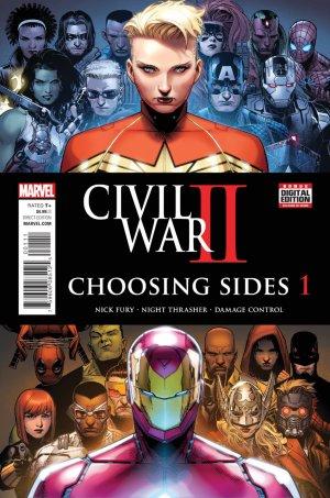 Civil War II - Choosing Sides édition Issues (2016)