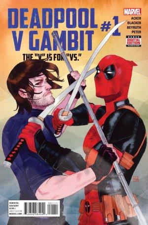 Deadpool Vs Gambit # 1 Issues V1 (2016)