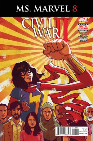 Ms. Marvel # 8 Issues V4 (2015 - 2019)