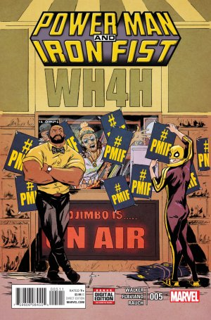 Power Man and Iron Fist # 5 Issues V3 (2016 - 2017)