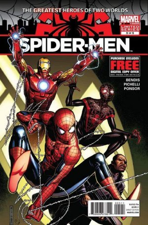 Spider-Men # 5 Issues (2012)