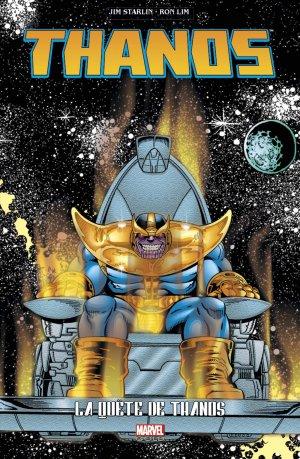Thanos - La Quête de Thanos édition TPB Softcover - Marvel Gold