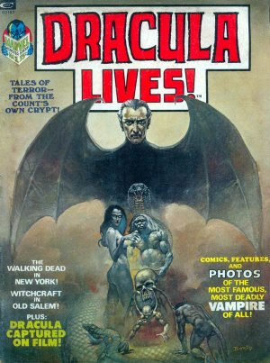 Dracula Lives édition Issues (1973 - 1975)