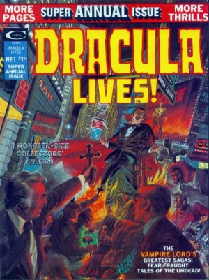 Dracula Lives édition Issues - Annuals (1975)
