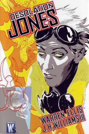 Desolation Jones édition TPB softcover (souple)