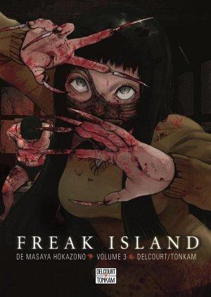 couverture, jaquette Freak island 3  (Delcourt Manga) Manga