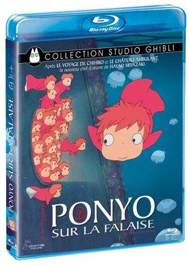 Ponyo sur la Falaise édition Blu Ray