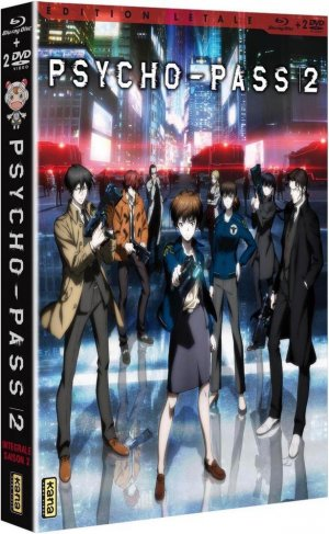 Psycho-pass 2 édition Combo DVD Blu-ray