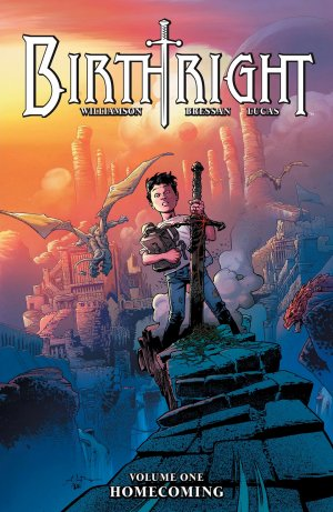 Birthright édition TPB softcover (souple)
