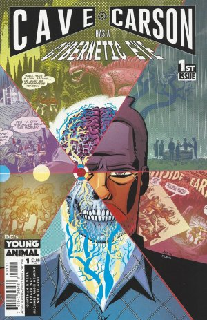 Cave Carson has a cybernetic eye édition Issues (2016 - 2017)