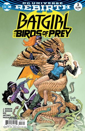 Batgirl and the Birds of Prey # 3 Issues V1 (2016 - 2018)