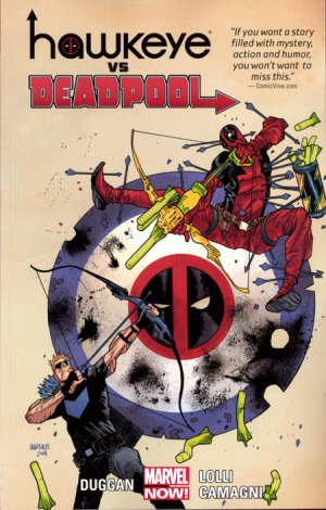 Hawkeye Vs. Deadpool édition TPB softcover (souple)