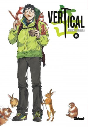 couverture, jaquette Vertical 15  (Glénat Manga)