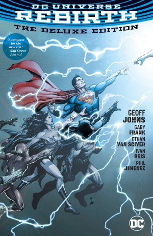 DC Univers Rebirth édition Deluxe (hardcover)